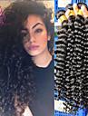 """10 """"-26"""" malaysiska jungfru hår 3st / lot malaysianen lockigt hår vinkar djupt människohår väva malaysian vinkar djupt"""