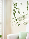 Botanisk / Romantik Wall Stickers Väggstickers Flygplan , PVC 50*70cm
