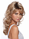 Top Quality Blonde Color Deep Brown Curly Fashion Woman\'s Long Synthetic Wigs