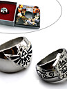 Smycken Inspirerad av The Legend of Zelda Cosplay Animé/ Videospel Cosplay Accessoarer Ring Blå / Silver Legering Man