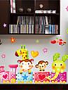 Noel / Floral / Vacances / Paysage Stickers muraux Stickers muraux 3D , pvc 25x43x0.1cm