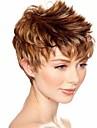 attrayante la mode des femmes de brun blond perruque courte