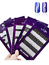 Abstrakt - Finger / Tå - 3D Nagelstickers - av PVC - 50pcs 3d adhesive nail stickers - styck 16cmX10cm each piece - cm