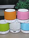 Trådlösa Bluetooth-högtalare 2.0 CH Bärbar / LED-lampa / Mini / Support Minneskort