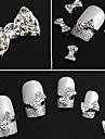 Vackert - Finger - Nagelsmycken - av Metall - 10st - styck 1 - cm