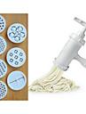bärbar hem pasta nudel pressmaskin med 7 mall