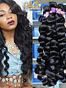 """10 """"-30"""" 6a mongoliska jungfru hår lös våg 4st mycket mongoliska lockigt hår väva mongolian mänskliga hårförlängningar"""