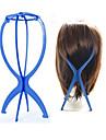 peruk monter skyltdocka dummy huvudet hatt mössa hår innehavaren fällbara stabilt verktyg (blå)