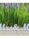 MR & MRS Wedding Alphabetical Decoration