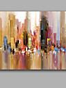 Peint a la main AbstraitStyle europeen Un Panneau Toile Peinture a l\'huile Hang-peint For Decoration d\'interieur