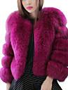 Women Fox Fur Shawl & Wrap / Top , Lined