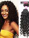 """1 st / lot 12 """"-30"""" 7a malaysiska jungfru hår vinkar djupt mänskligt hårwefts 100% obearbetat malaysiska remy hår väver"""