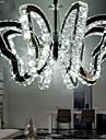 sommerfugl restaurant lampe moderne luksus førte krystal lampe