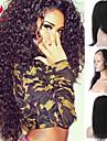 새로운 10-28inch 브라질 처녀 머리 곱슬 곱슬 자연 색상의 레이스 프런트 가발, 무료 선물 보내기