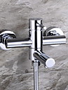 Poignee finition chromee DGPS ™ contemporain simple robinet de la baignoire