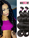 """3 pieces / lot 8 """"-30"""" extensions de cheveux peruvien d\'onde de corps de cheveux vierges 7a 100% remy non transformes cheveu humain tisse"""