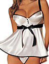 Woman\'s Sexy Temptation Conjoined Backless Transparent Lace Nightwear