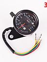 iztoss motorcykel dubbla vägmätare hastighetsmätare mätare LED-bakgrundsbelysning signallampa