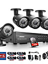 Annke 16ch hd 1080p dvr HDMI 4 ir exterior sistem de camere de securitate de origine video de 2TB