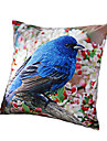 1 pcs Polyester Housse de coussin,Imprime animal Decontracte Moderne/Contemporain Rustique