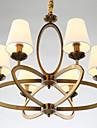 5 Ljuskronor ,  Rustik/Stuga / Vintage Elektropläterad Särdrag for Ministil Metall Living Room / Bedroom / Dining Room / Matsalsrum