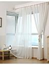 Deux Panneaux Rustique / Moderne / Neoclassique / Mediterraneen / EuropeenSolide / Rayure / Floral / Botanique / Geometrique / Courbe /