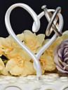 Vârfuri de Tort Nepersonalizat Inimi Rășină Nuntă Alb Temă Clasică 1 Cutie de Cadouri