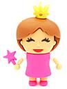 zpk30 64GB lilla prinsessa tecknad USB 2.0-flashminne u hålla