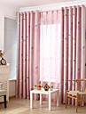 Deux Panneaux Rustique / Moderne / Neoclassique / Mediterraneen / Europeen Nouveaute / Bande dessinee / Coeur Beige / RoseChambre a