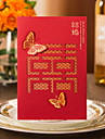 Personalized Gate-Fold Wedding Invitations Invitation Cards / Engagement Party Cards-50 Piece/Set Modern Style Hard Card Paper