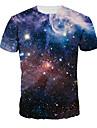 Inspirerad av Cosplay Cosplay Animé Cosplay-kostymer Cosplay T-shirt Tryck Blå Kort ärm T-shirt För Man