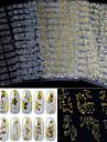 Punk-Finger-3D Nagelstickers / Nagelsmycken- avPVC-1pcs- styck12.2cm*18cm- cm