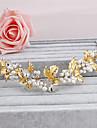 Femei Perle Diadema-Nuntă Ocazie specială Informal Birou & carieră Exterior Cordeluțe 1 Bucată
