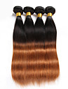 Halloween 3 pieces 150g cheveux humains droite tisse texture brazilian cheveux humains tisse droite