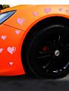 reflechissants romantiques voiture amour de la personnalite autocollants (15pcs / set)