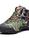 Chaussures Vert Cuir / Toile Randonnee Homme