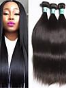 """3pcs / lot 8 """"-30"""" msbeauty note 5a cheveux raides vierge 100% cheveux humains malaisien tisse"""