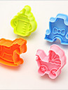 Moule de Cuisson Animal Pour Gateau Pour Cookie For Chocolate Plastique Ecologique 3D Haute qualite