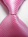 Dungi de cravată tricotate cu cravată de jacquard roz
