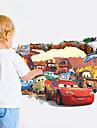 Tecknat / fantasi / 3D Wall Stickers Väggstickers i 3D,PVC 50*70 cm (19.7*27.5 inch)