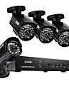 Zosi @ 8ch 960h hdmi dvr 4st 800tvl utomhus CCTV hem säkerhet kamerasystem