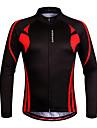 Wosawe® Cykeltröja Dam / Unisex Lång ärm Cykel Andningsfunktion / Snabb tork / Anatomisk design / FuktgenomtränglighetTröja /