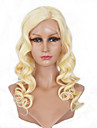 Women Lace Front Wig Brazilian Virgin Hair Color(Blonde) Body Wave Hair