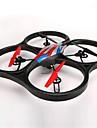 WL leksaker V666 Drönare 6 Axel 4 Kanaler 2.4G Radiostyrd quadcopterMed Kamera / Headless-läge / 360-Graders Flygning / Tillgång