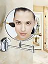 Miroir Anodisation Fixation Murale 28*23*18cm Aluminium Contemporain