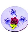 Ny DIY Flower silikonform Fondant Formar Sugar Craft Verktyg Harts blommor Mould formar för kakor