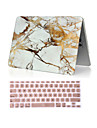 """2 i en marmor hela kroppen hårda fallet + tangentbord täcker för macbook air 11 """"pro 13,3"""" /15.4 """""""