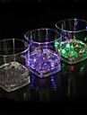 ledde ljusavgivande glas vatten induktion färgrik kvartett kopp färgkopp