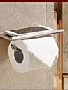 Suport Hârtie Toaletă,Conteporan Argint Montare Perete