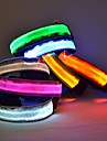 Chat / Chien Colliers Lampe LED / Ajustable/Reglable Rouge / Vert / Bleu / Jaune Nylon